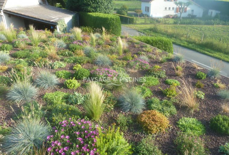 Toiture végétale pour abris de jardins et voitures GER 64