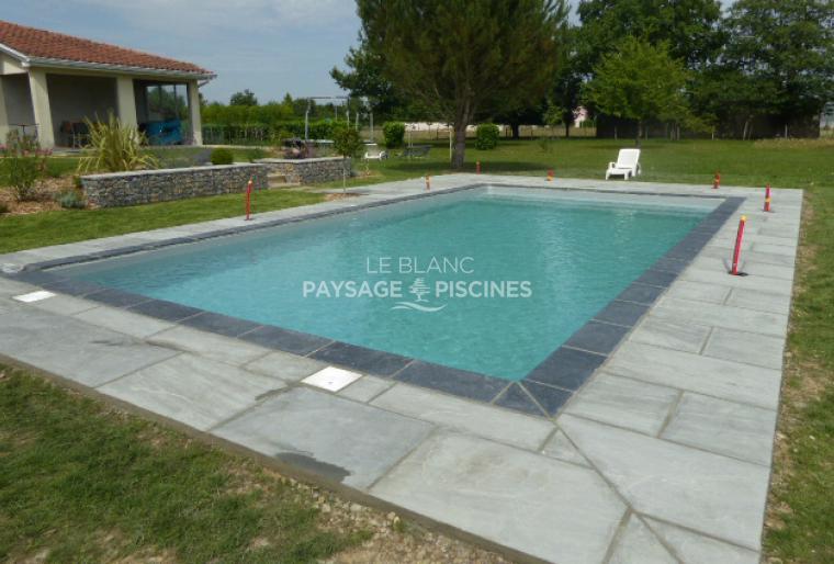 Aménagement Paysager - Gabions - Dallage autour piscine - OSSUN 65
