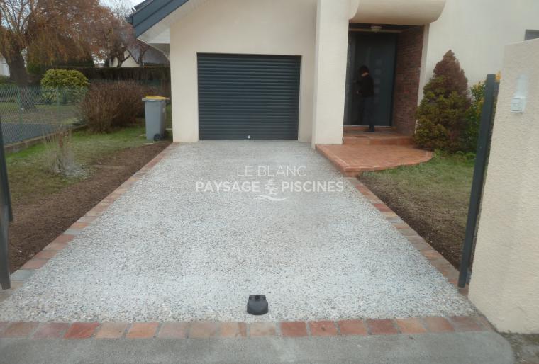 Rénovation cour en béton désactivé - Bordères sur Echez 65