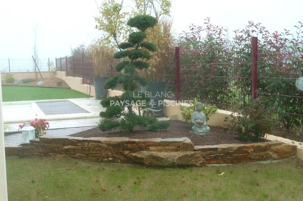 Am nagement paysager leblanc for Entretien jardin 22