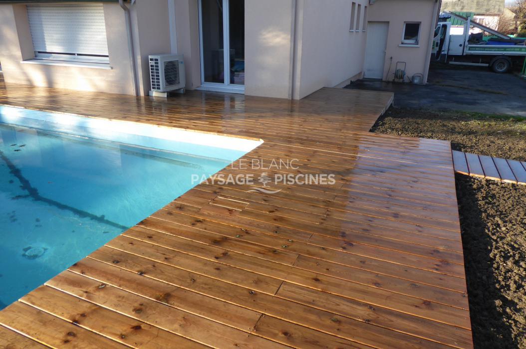 terrasse bois autour piscine aureilhan 65